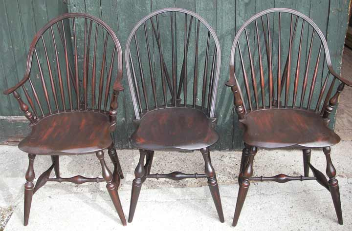Set of 7 D. R. Dimes Chairs & Carl W. Stinson Inc. - Auctioneers and Appraisals Since 1960